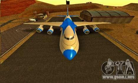 Andromada GTA V para la visión correcta GTA San Andreas