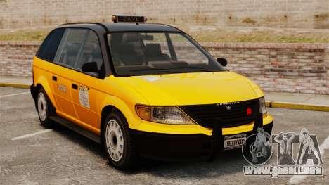 Taxi mejorada para GTA 4