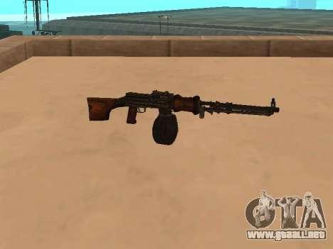 Ametralladora ligera (RAP) [la citación necesitó para GTA San Andreas