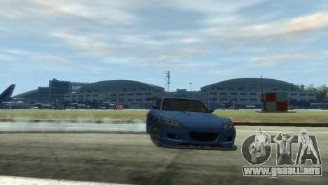 Mazda RX-8 R3 para GTA 4 vista hacia atrás