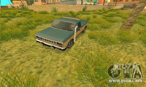 Armadura todoterreno Bobcat para GTA San Andreas left