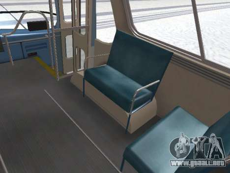 GM TDH-5303 1969 v1.0 para GTA San Andreas interior