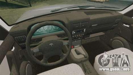 Volga GAZ-3110 para GTA 4 vista lateral