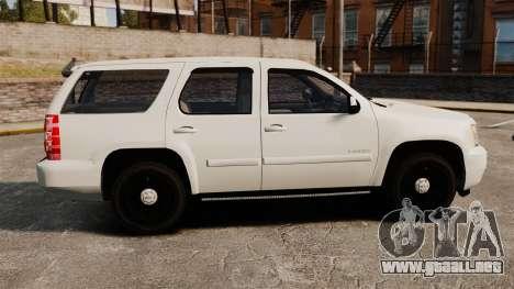 Chevrolet Tahoe Slicktop [ELS] v1 para GTA 4 left