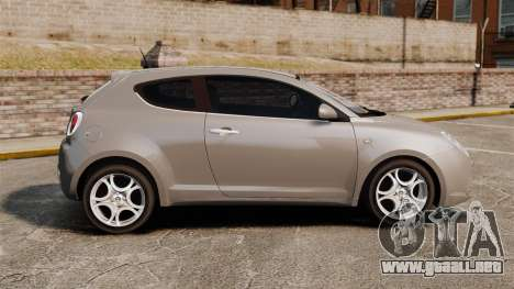 Alfa Romeo MiTo para GTA 4 left