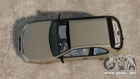Daewoo Lanos 1997 PL para GTA 4 visión correcta