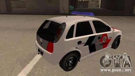 Chevrolet Corsa VHC PM-SP para la visión correcta GTA San Andreas