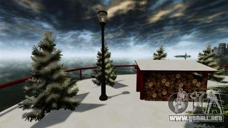 Isla de Navidad para GTA 4 quinta pantalla