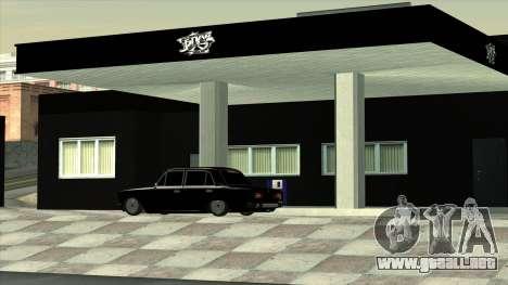 El garaje en Doherty BPAN para GTA San Andreas