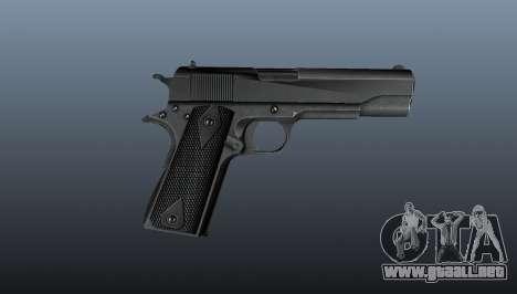 Pistola M1911 v3 para GTA 4 tercera pantalla
