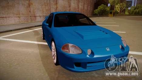 Honda CRX Del Sol para GTA San Andreas left