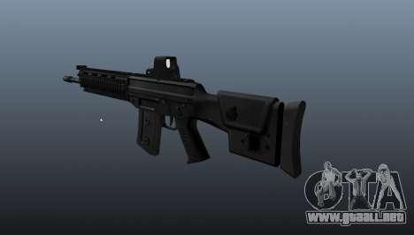 Fusil SIG SG 751 v1 para GTA 4 segundos de pantalla