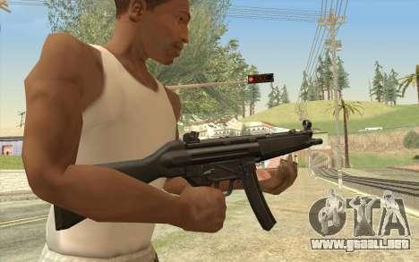 HK MP5 para GTA San Andreas