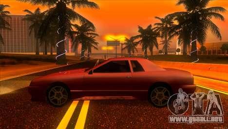 Elegy 2013 JDM para GTA San Andreas left