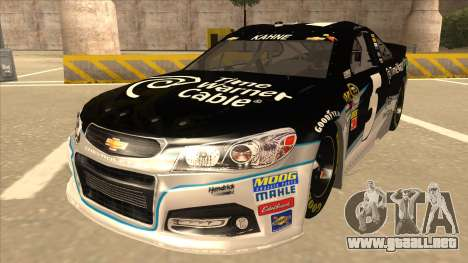 Chevrolet SS NASCAR No. 5 Time Warner Cable para GTA San Andreas