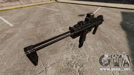 HK MP7 subfusil ametrallador v1 para GTA 4 segundos de pantalla