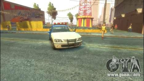 Policía del GTA 5 para GTA 4 left