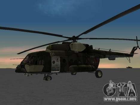 MI-8 para GTA San Andreas left