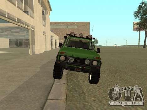 VAZ 21213 Niva 4 x 4 Off Road para la visión correcta GTA San Andreas