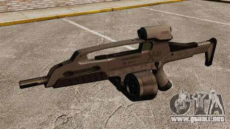 Automático HK XM8 v3 para GTA 4 tercera pantalla