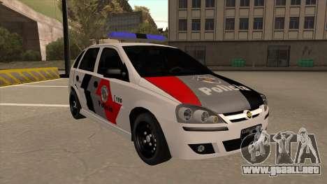 Chevrolet Corsa VHC PM-SP para GTA San Andreas left