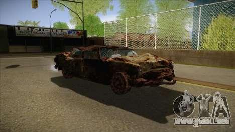 New Glenshit para GTA San Andreas vista hacia atrás