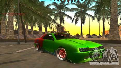Elegy New Year for JDM para GTA San Andreas