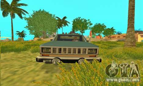 Armadura todoterreno Bobcat para visión interna GTA San Andreas
