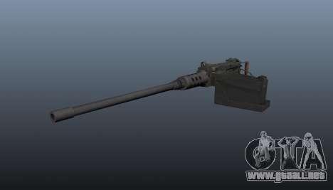 Maxim ametralladora Browning M2HB para GTA 4