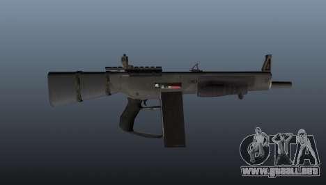 La escopeta AA-12 para GTA 4 tercera pantalla