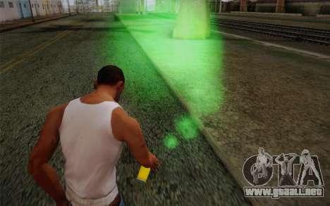 Pintura de aerosol de los surfistas de metro para GTA San Andreas tercera pantalla