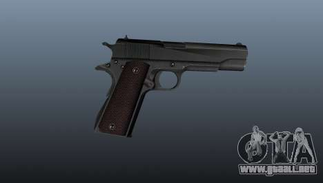 Pistola M1911 v5 para GTA 4 tercera pantalla
