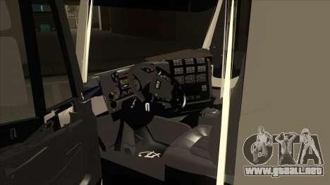 Hola-Land volquete Iveco para visión interna GTA San Andreas