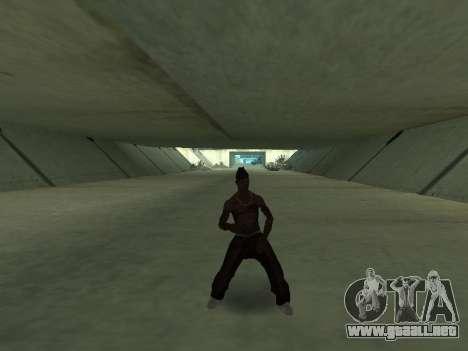 Bailan para GTA San Andreas segunda pantalla