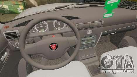 Volga GAZ-3110 Coupe para GTA 4 vista lateral