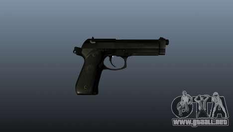 Pistola Beretta M9 para GTA 4 tercera pantalla