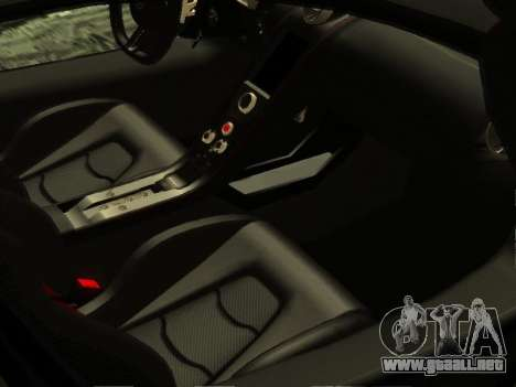 McLaren MP4-12C WheelsAndMore para la vista superior GTA San Andreas