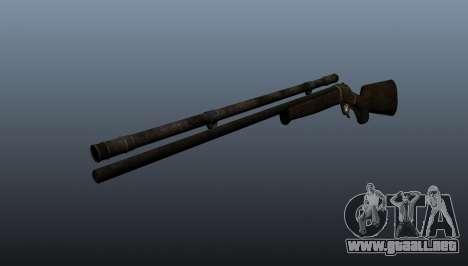 Rifle de francotirador Remington Rolling-Block para GTA 4