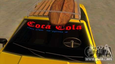 Elegy New Year for JDM para vista inferior GTA San Andreas