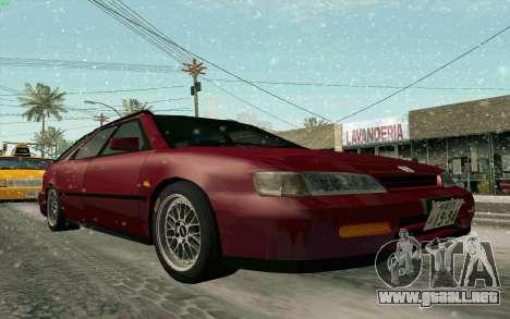 Honda Accord Wagon para visión interna GTA San Andreas