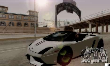 VI ENB para PC baja para GTA San Andreas sucesivamente de pantalla