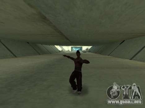 Bailan para GTA San Andreas sucesivamente de pantalla