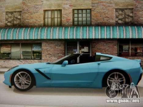Chevrolet Corvette C7 Stingray 2014 para GTA San Andreas left