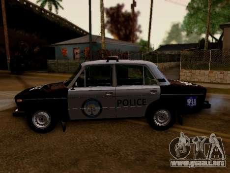 Policía de Los Santos 2106 VAZ para GTA San Andreas left