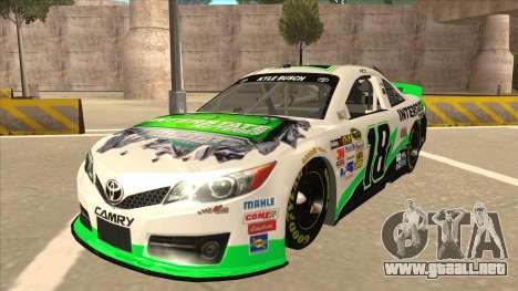 Toyota Camry NASCAR No. 18 Interstate Batteries para GTA San Andreas