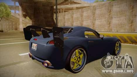 Pontiac Solstice Rhys Millen para la visión correcta GTA San Andreas