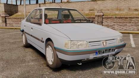 Peugeot 405 GLX Final para GTA 4
