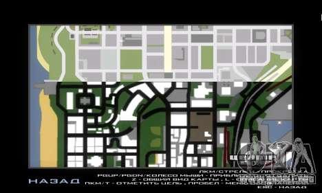GTA V atlas map para GTA San Andreas segunda pantalla