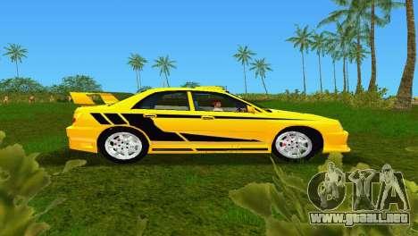 Subaru Impreza WRX v1.1 para GTA Vice City left