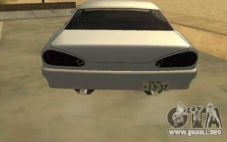 GTA V to SA: Realistic Effects v2.0 para GTA San Andreas octavo de pantalla